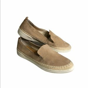 Dolce Vita Reina Slip On Suede Leather Sneakers